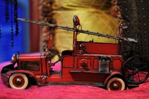 Firetruck at Tart