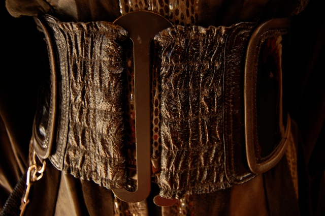 Leather belt by Sadryna Designs